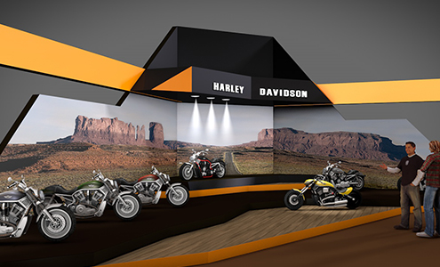 christine-sperle-produktdesign-harley-davidson-messestand-3D