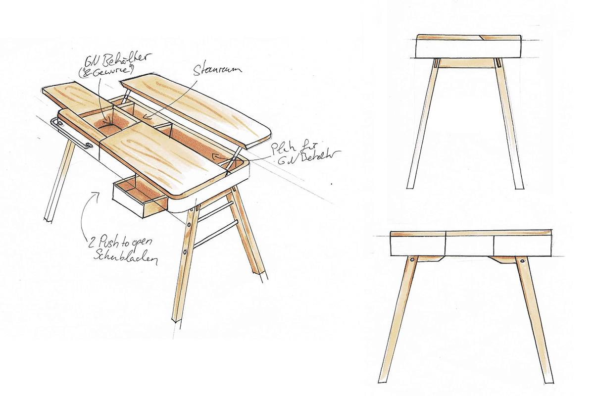 Christine-Sperle-Produktdesign-KITO-Skizzen