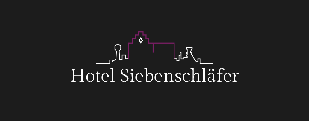 Christine Sperle – Logodesign – Hotel Siebenschläfer Alsdorf
