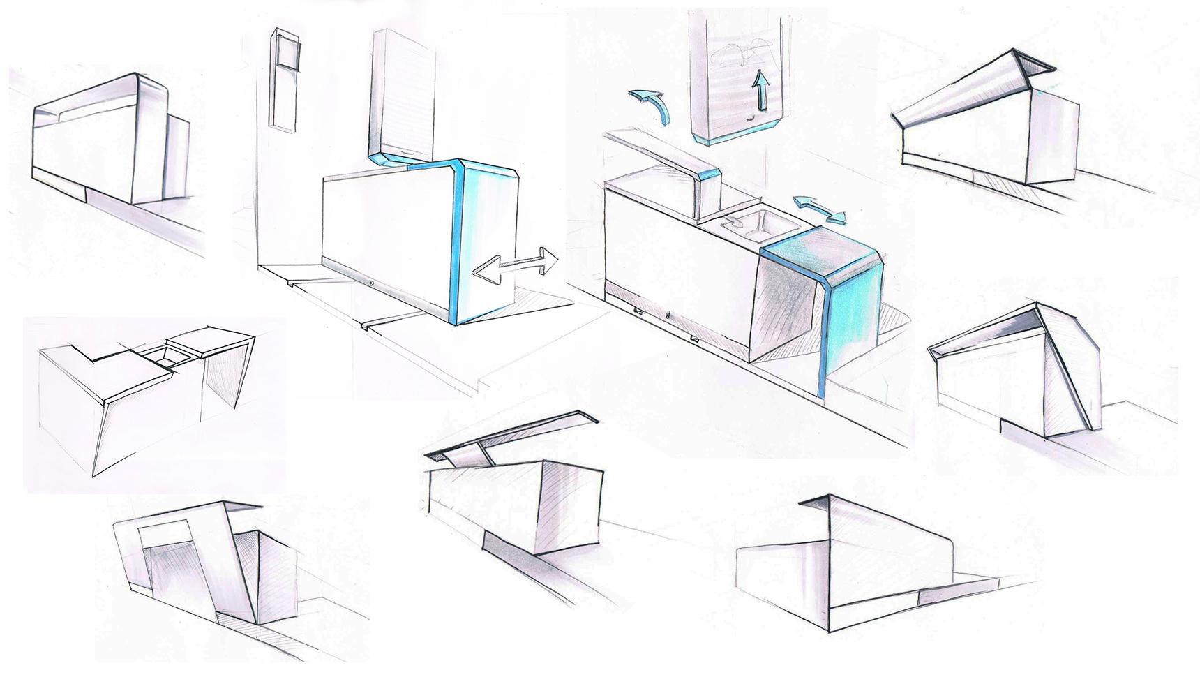 Christine-Sperle- Produktdesign - Fabbus Theke