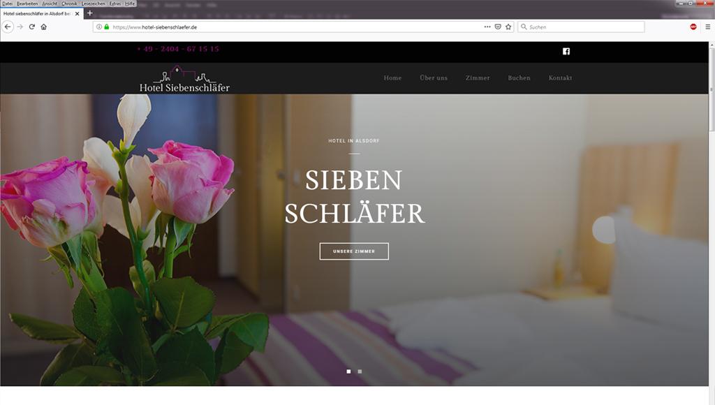 Christine-Sperle-website-umsetzung-hotel-siebenschläfer-weiß