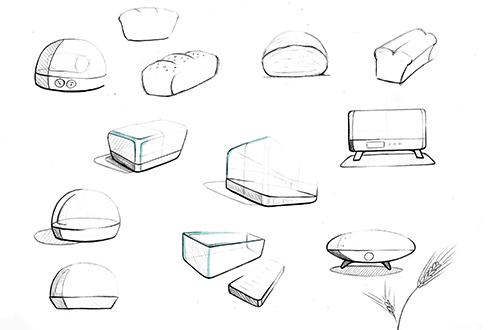 Christine Sperle - Produktdesign - Fermentino - Formfindung