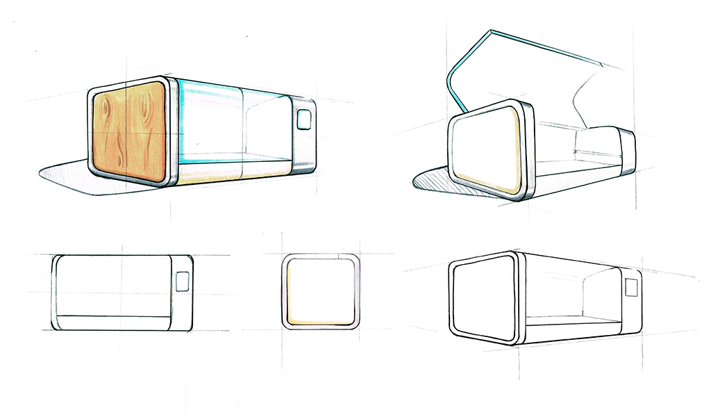 Christine Sperle - Produktdesign - Fermentino - Sizzen